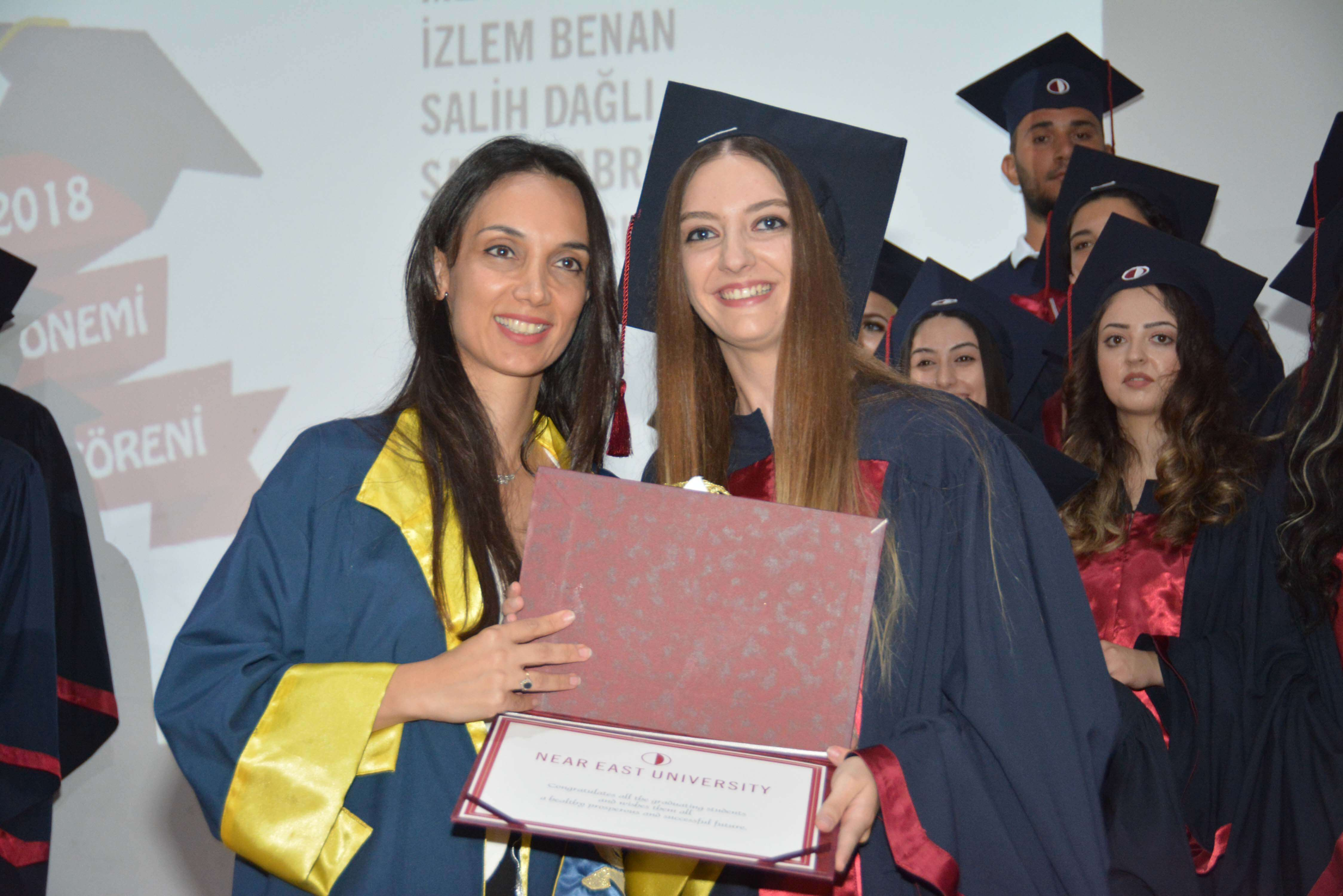 Graduation Ceremony of the Near East University Faculty of Communication was realized