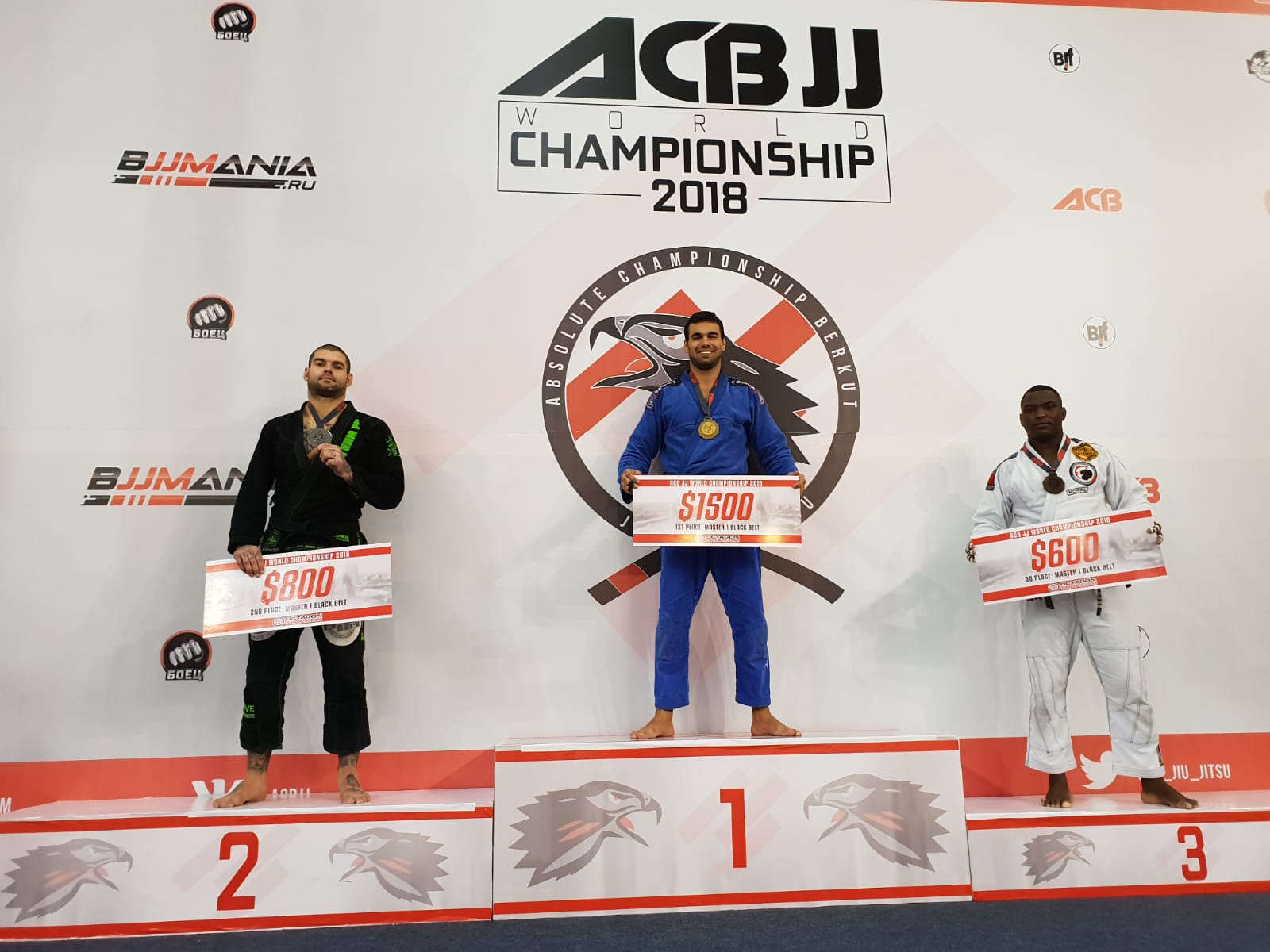 Chief Coach of Near East University Brazilian Jiu-jitsu Team is World Champion
