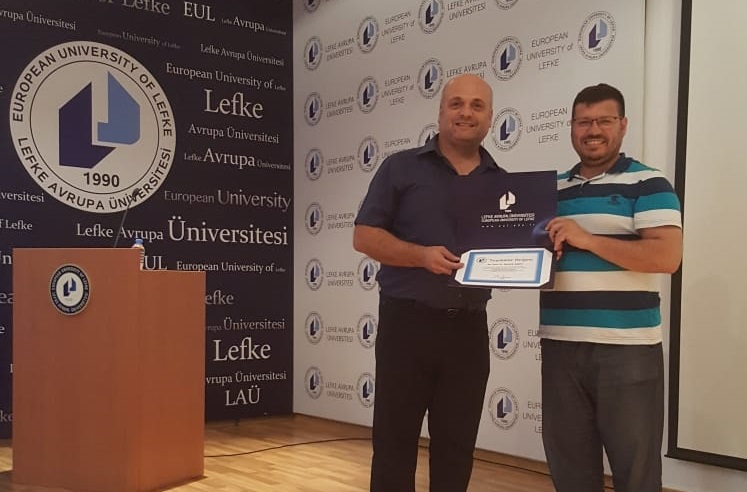 Academic Member of Near East University Prof. Dr. Mustafa Sağsan gave a seminar on Academic Publications in EUL
