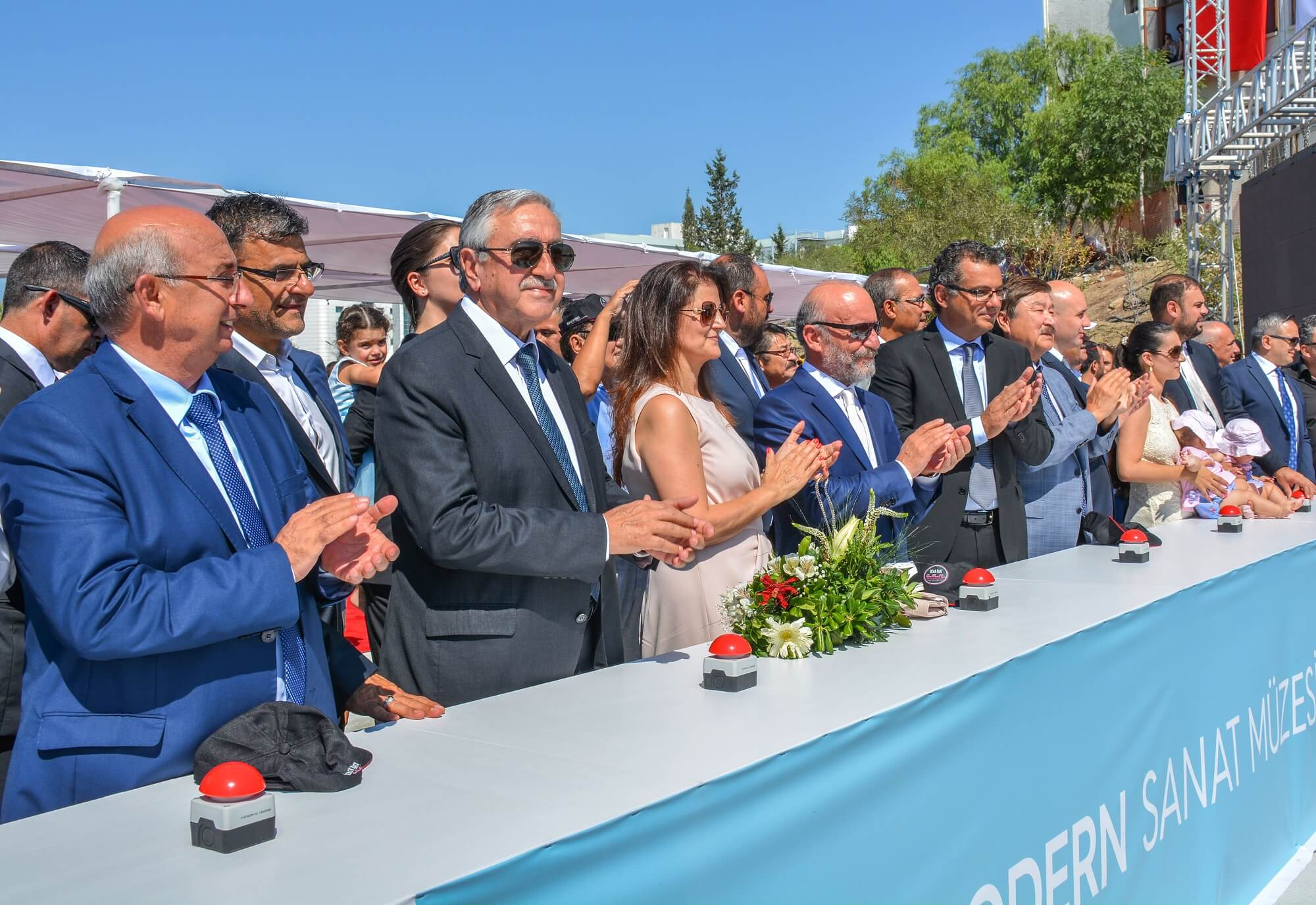The Foundations of Cyprus Modern Arts Museum were laid with a Glorious Ceremony held at Near East University Campus