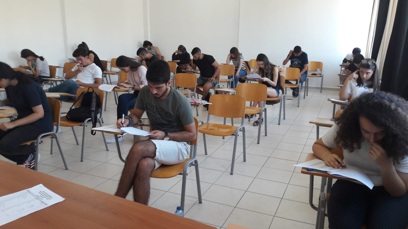 English Proficiency and Level Placement Exam for New Students was held at Near East University