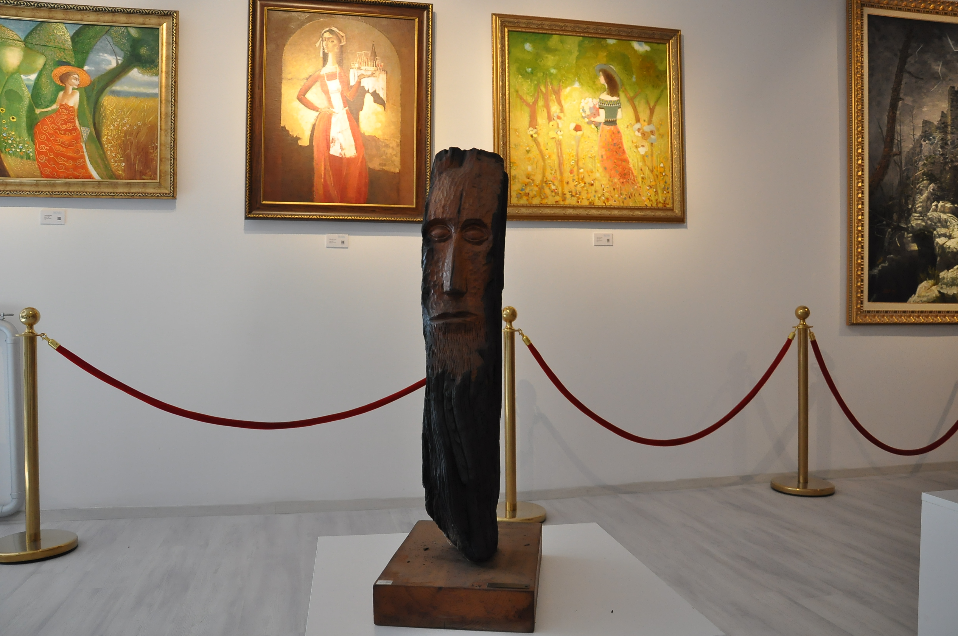 A Very Important Work of Şinasi Tekman, the First Turkish Cypriot Sculptor and Journalist-Author, was handed to Cyprus Museum of Modern Arts by his son, Journalist-Author Ali Tekman