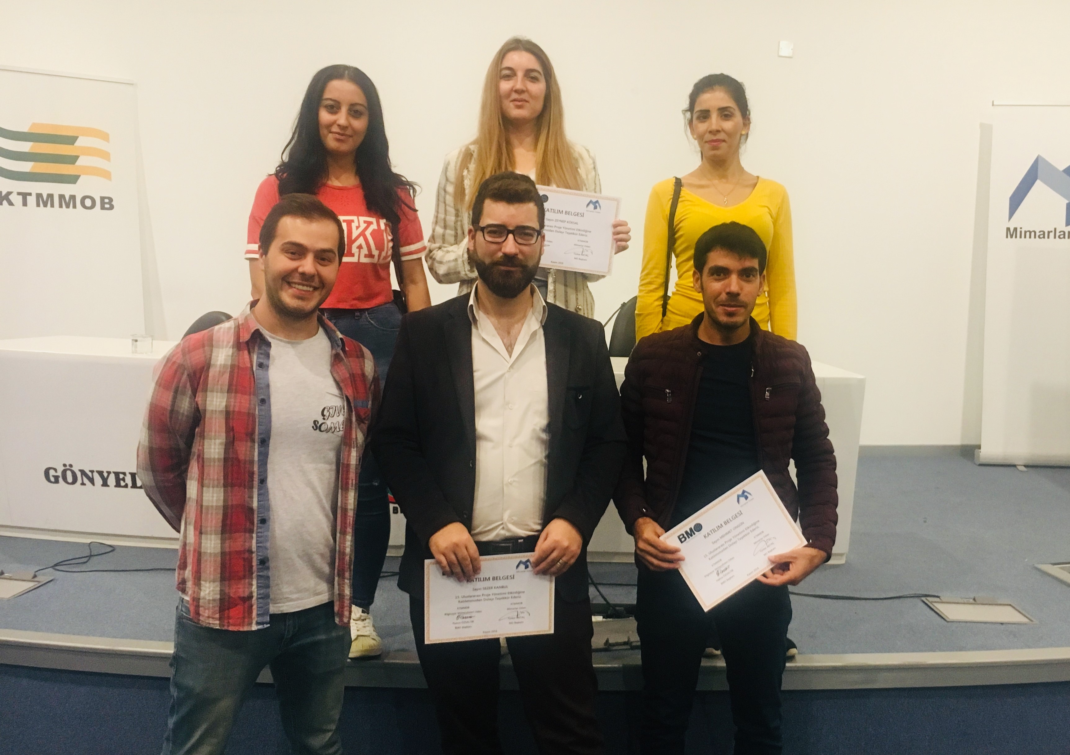 "Near East University Department of Computer and Educational Technologies Students participated in the ""15th International Project Management Day"""