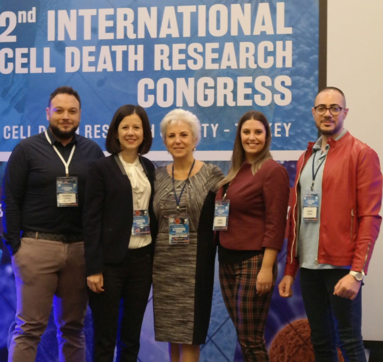 Award for the Second Best Oral Presentation goes to the Near East University at the 2nd International Cell Death Research Congress