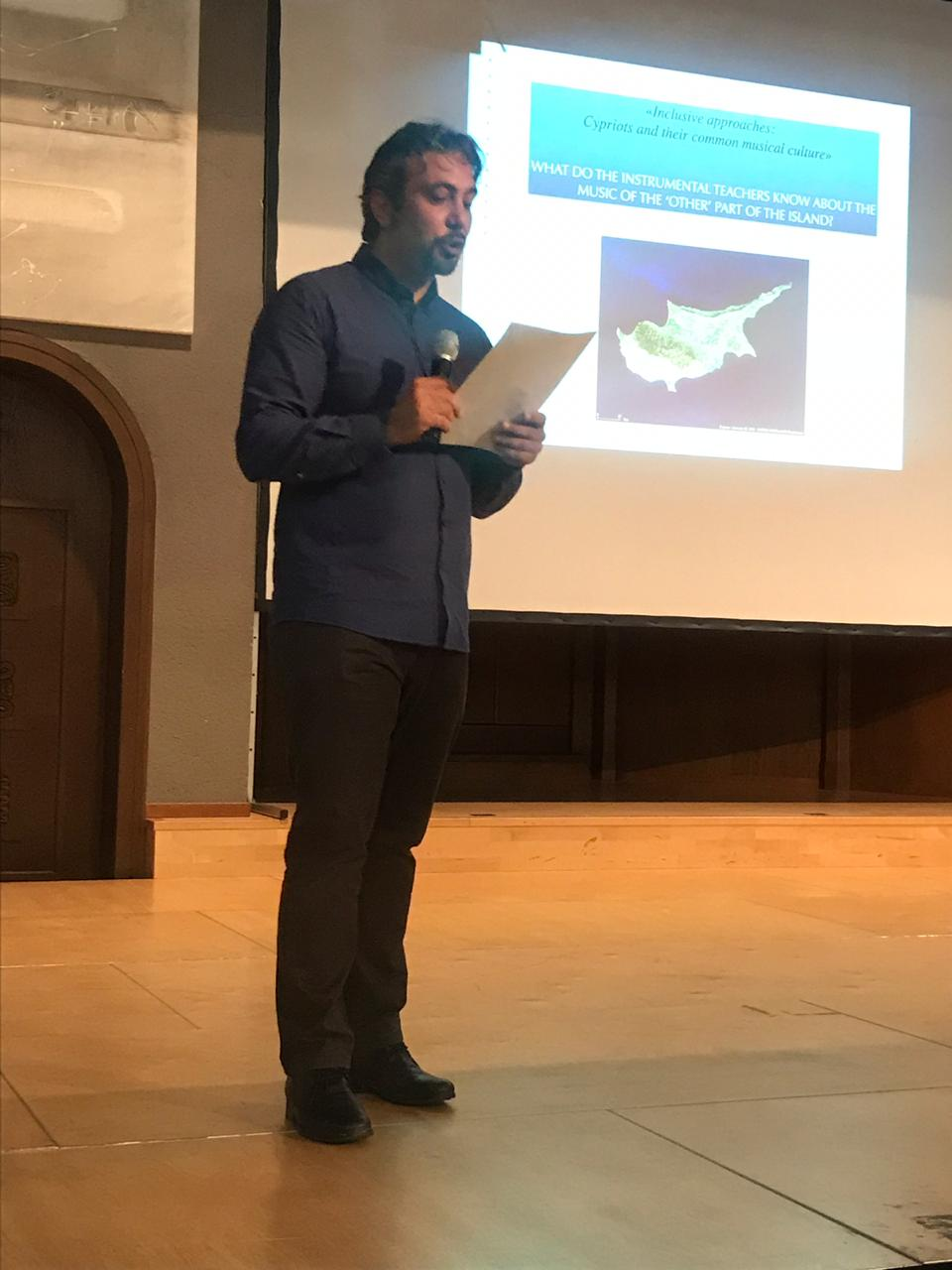 Near East University, Department of Music Education Lecturer Assist. Prof. Dr. Ertem Nalbantoğlu attended the 25th Mus-E Conference in Switzerland as an Invited Speaker and Violinist