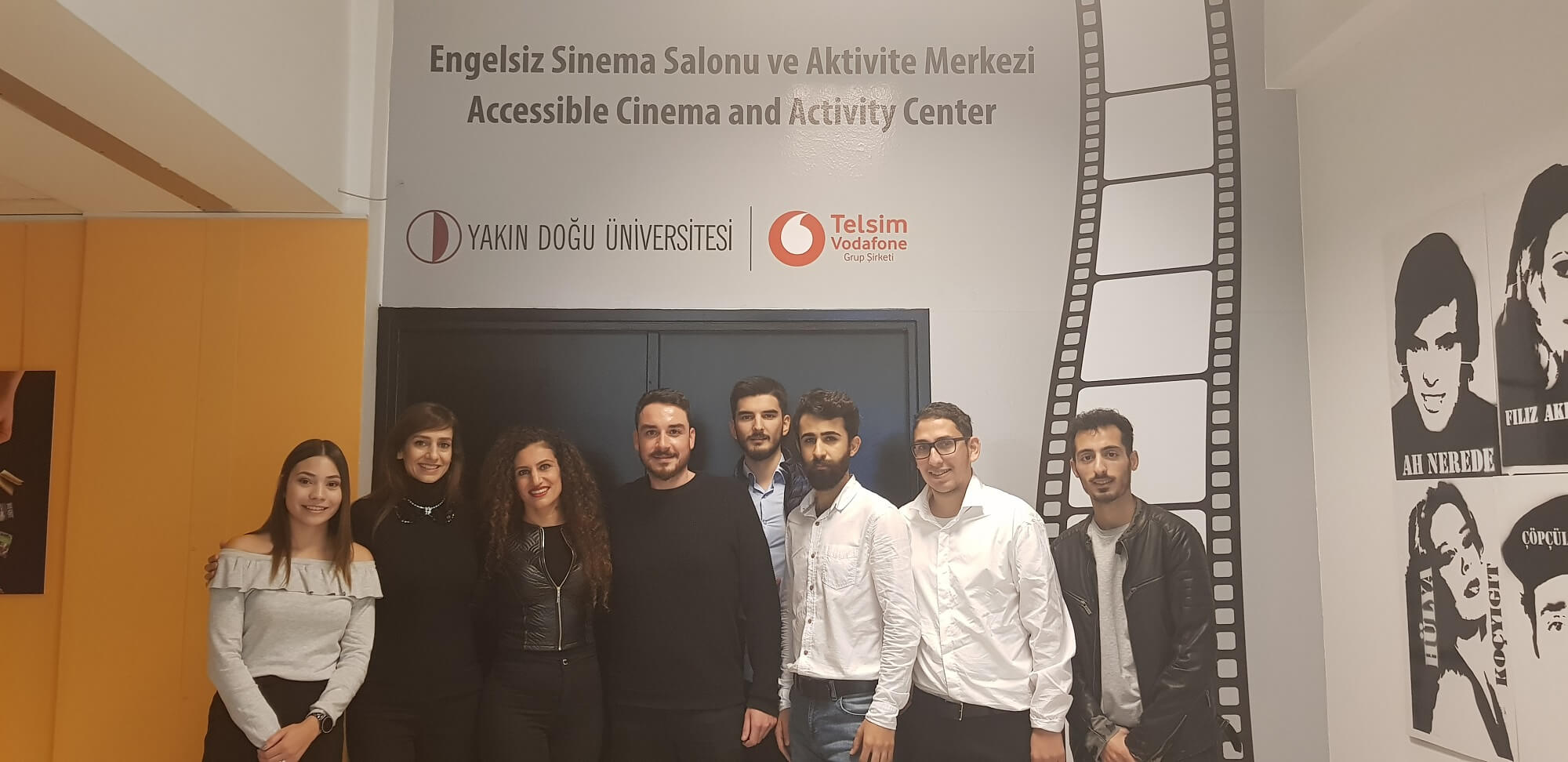 The first film screening of the Accessible Cinema and Activity Center was made for children