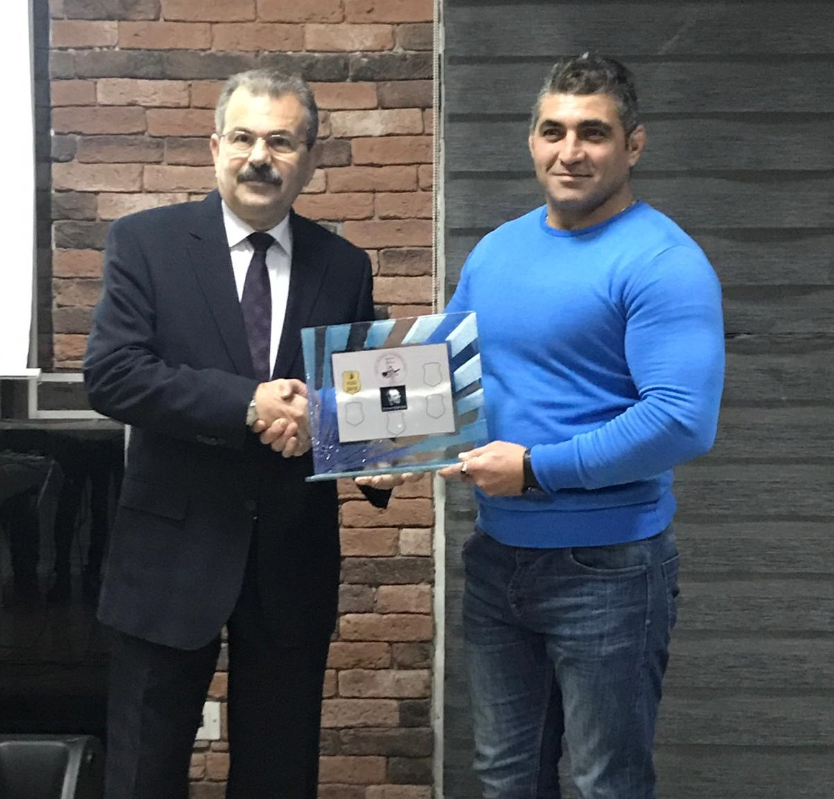 Near East University wind blew in Northern Cyprus Wrestling Federation 2018 Award Ceremony