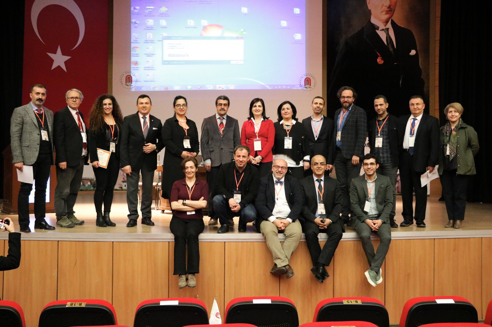 Near East University Faculty of Communication represented in International Turkish Press Symposium