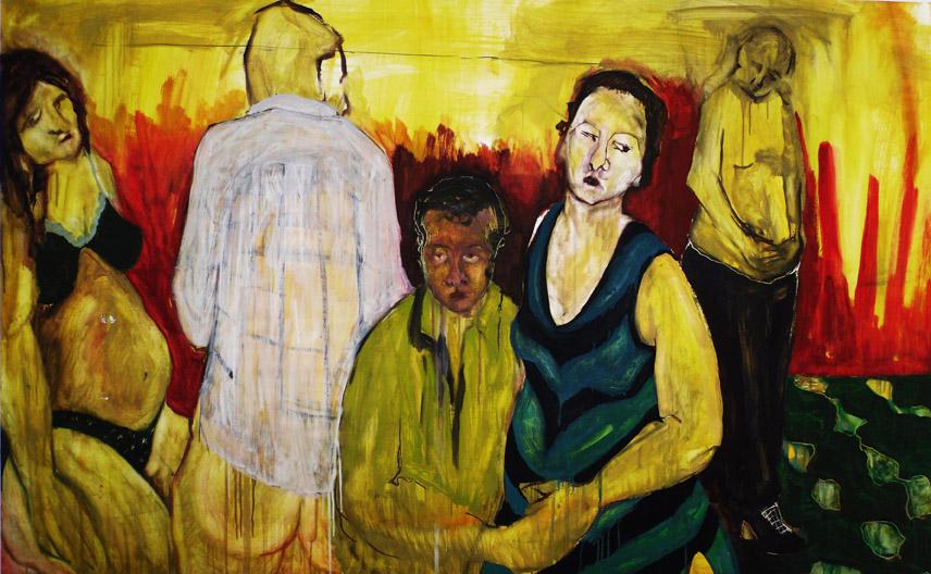 Kıbrıs Modern Sanat Müzesinin Ilk Kıbrıslı Türk Ressam Ismet Vehit