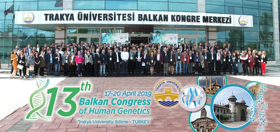 The Presentations that Near East University Researchers made at the13th International Balkan Congress of Human Genetics attracted attention