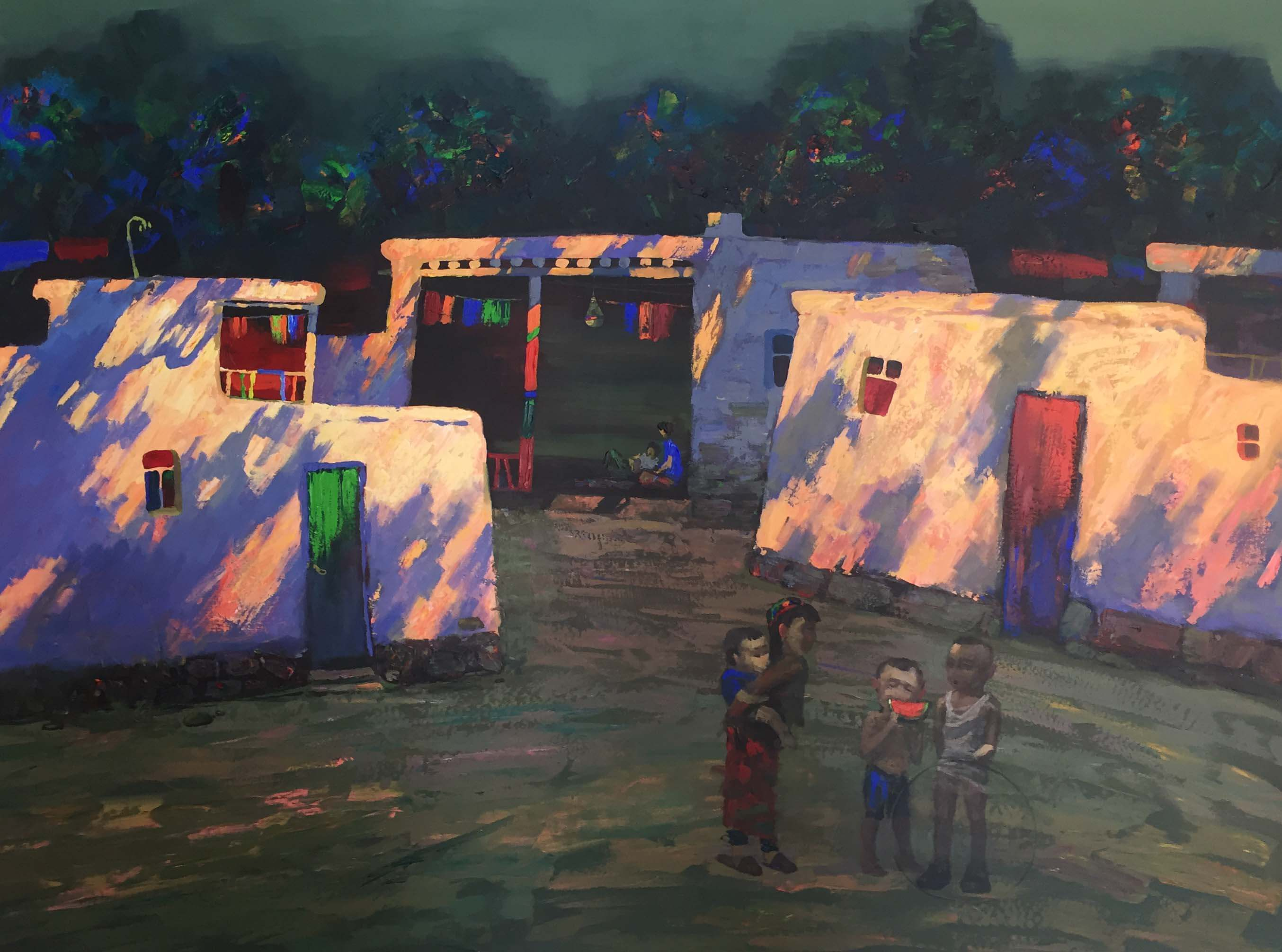 Kyrgyzstan Artists Painting Exhibition Consisting Of 45 Artworks Exclusively Prepared By 10 Artists From Kyrgyzstan For Cyprus Museum of Modern Arts Opens By Minister Of Agriculture And Natural Resources Dursun Oğuz…