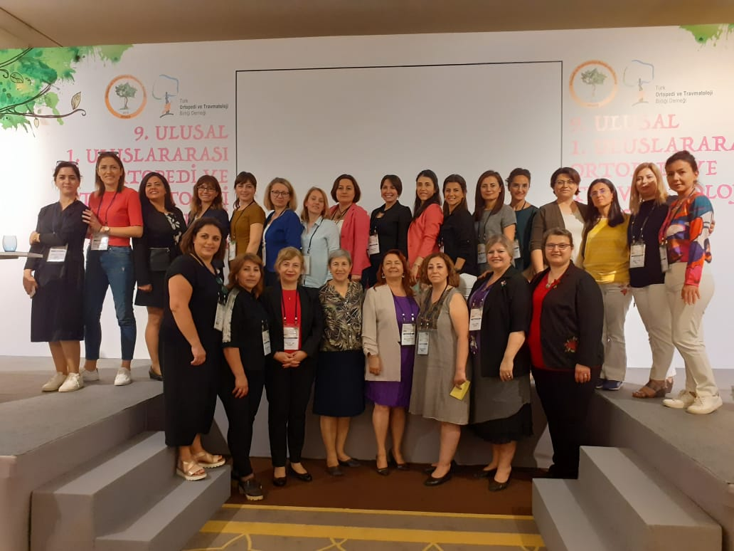 Near East University Faculty of Nursing represented at the 1st International and 9th National Orthopedics and Traumatology Nursing Congress