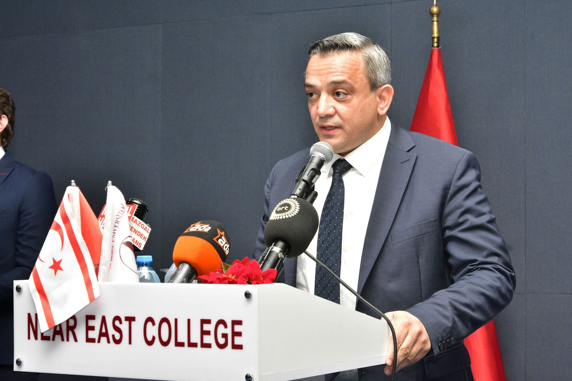 Official Opening of the Near East College Yeniboğaziçi Campus was held with the participation of President Ersin Tatar