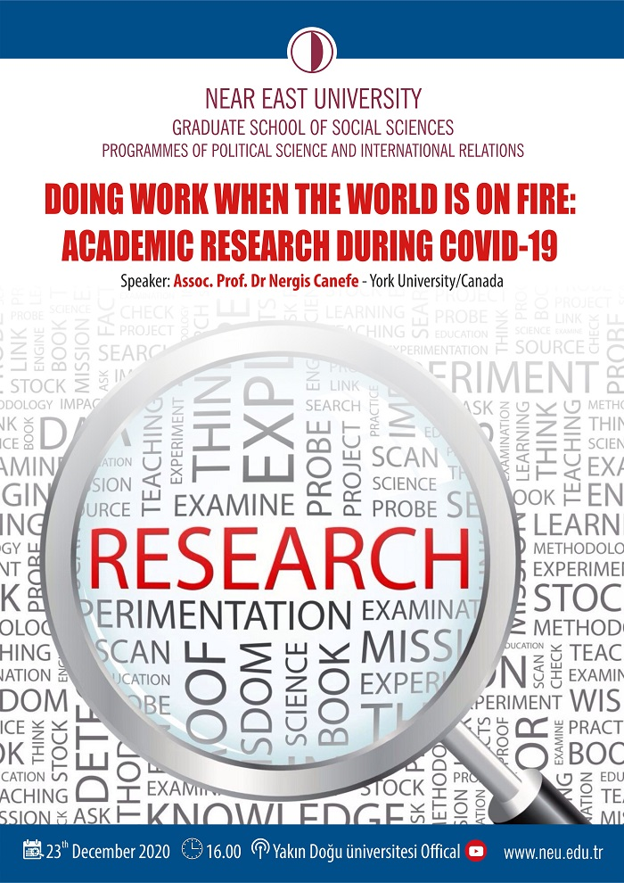 Doing Work When the World is on Fire: Academic Research During Covid-19